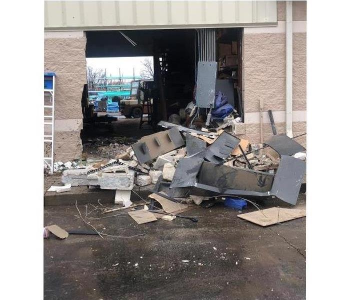 SERVPRO Helps Restore Business After Crash Before