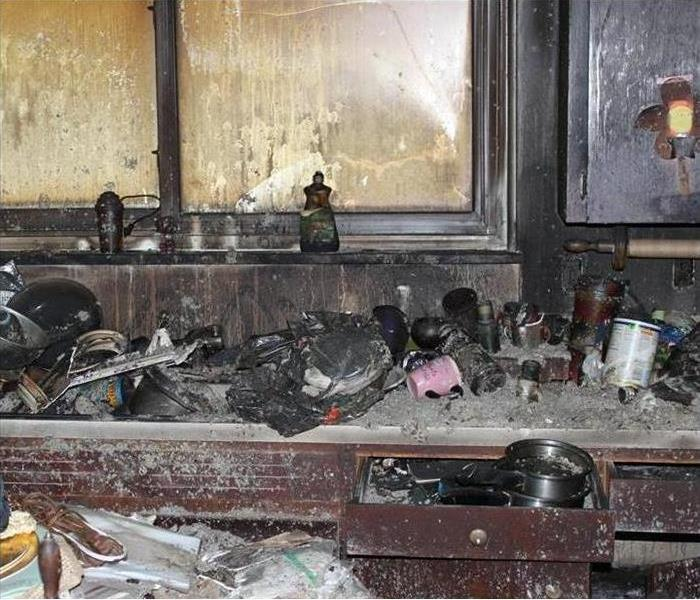 Fire Damage SERVPRO handles smoke and soot